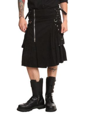 Gothic Bondage Kilt